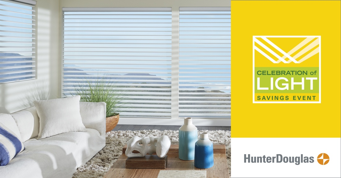 2018 Hunter Douglas Celebration of Light Savings Event in Greenwich, Connecticut (CT)